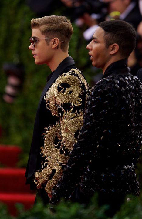 Met Gala 2015: Justin Bieber - Bildquelle: Alberto Reyes/WENN.com
