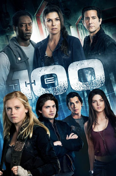 (1. Staffel) - The 100 - Plakat - Bildquelle: Warner Brothers