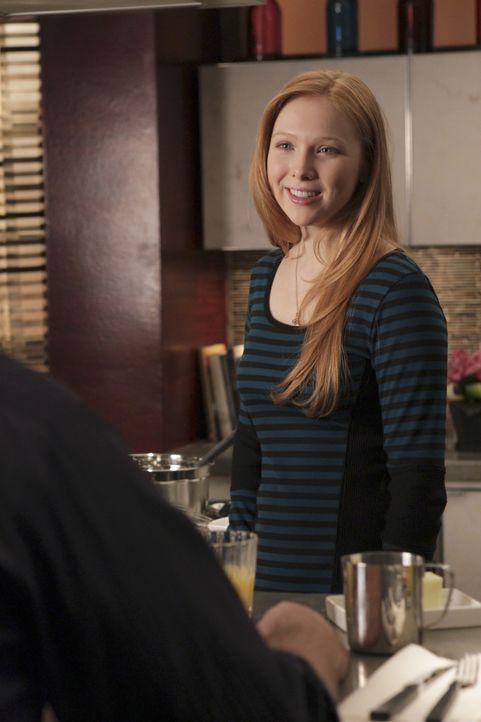 Alexis Castle (Molly C. Quinn) ist froh, mit ihrem Vater über alles reden zu können ... - Bildquelle: ABC Studios