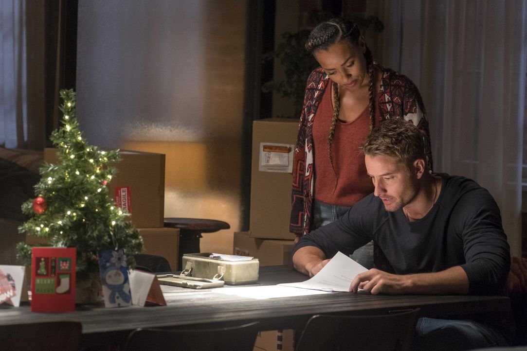 Zoe (Melanie Liburd, l.); Kevin Pearson (Justin Hartley, r.) - Bildquelle: Ron Batzdorff 2018-2019 NBCUniversal Media, LLC.  All rights reserved.
