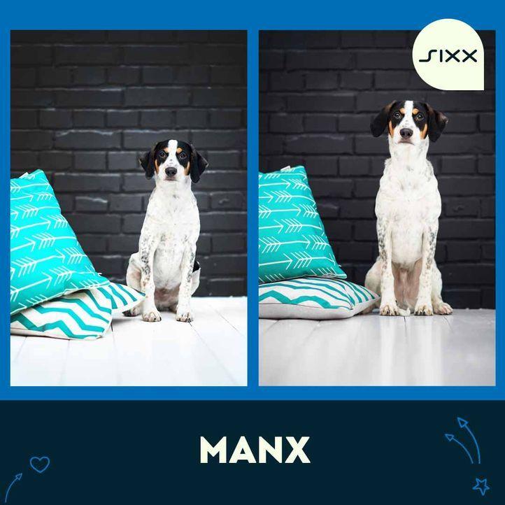 Vorher - Nachher Vergleich - Bildquelle: sixx/Dana Thimel