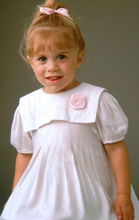 (2. Staffel) - Die aufgeweckte Michelle (Mary-Kate/Ashley Olsen) hält alle auf Trab ... - Bildquelle: Warner Brothers Inc.