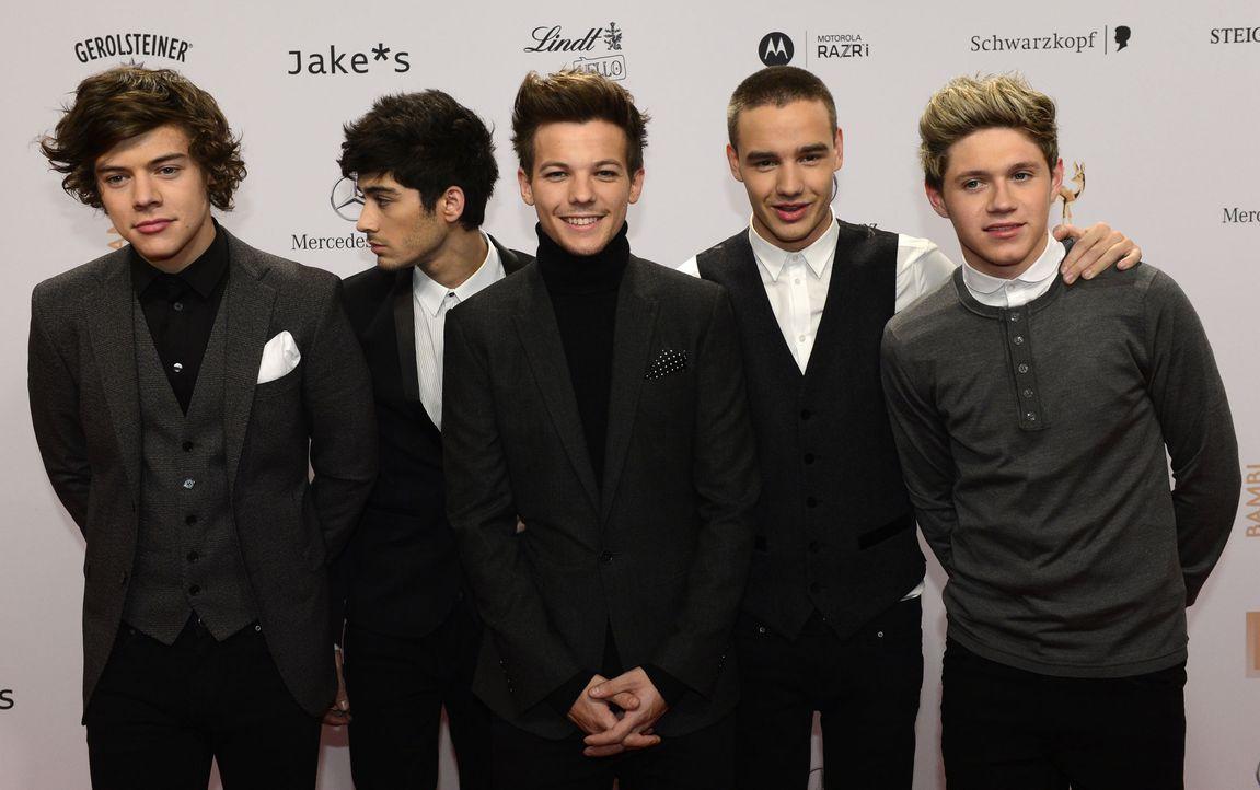 One Direction - Bildquelle: AFP