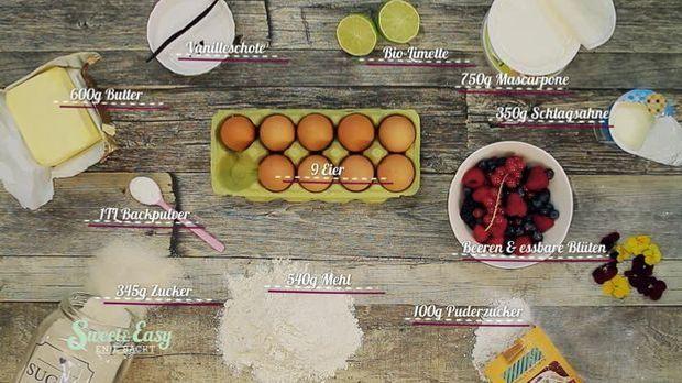 Naked Cake: Mit diesen Zutaten gelingt er sicher.