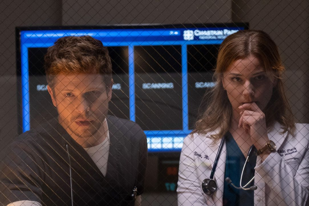 Dr. Conrad Hawkins (Matt Czuchry, l.); Nicolette Nevin (Emily VanCamp, r.) - Bildquelle: 2018-2019 Twentieth Century Fox Film Corporation. All rights reserved.