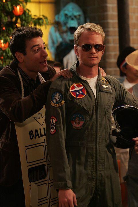 Auf der Suche nach der richtigen Frau: Ted (Josh Radnor, l.) und Barney (Neil Patrick Harris, r.) ... - Bildquelle: 20th Century Fox International Television