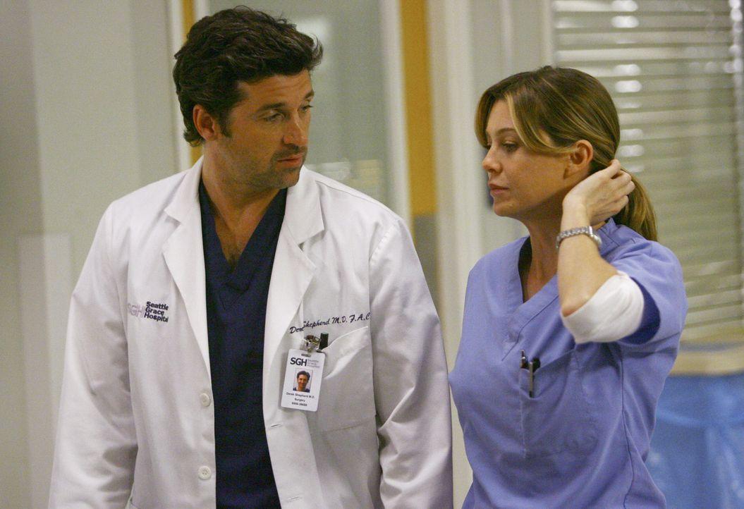 Wollen zusammenziehen: Derek (Patrick Dempsey, l.) und Meredith (Ellen Pompeo, r.) ... - Bildquelle: Touchstone Television