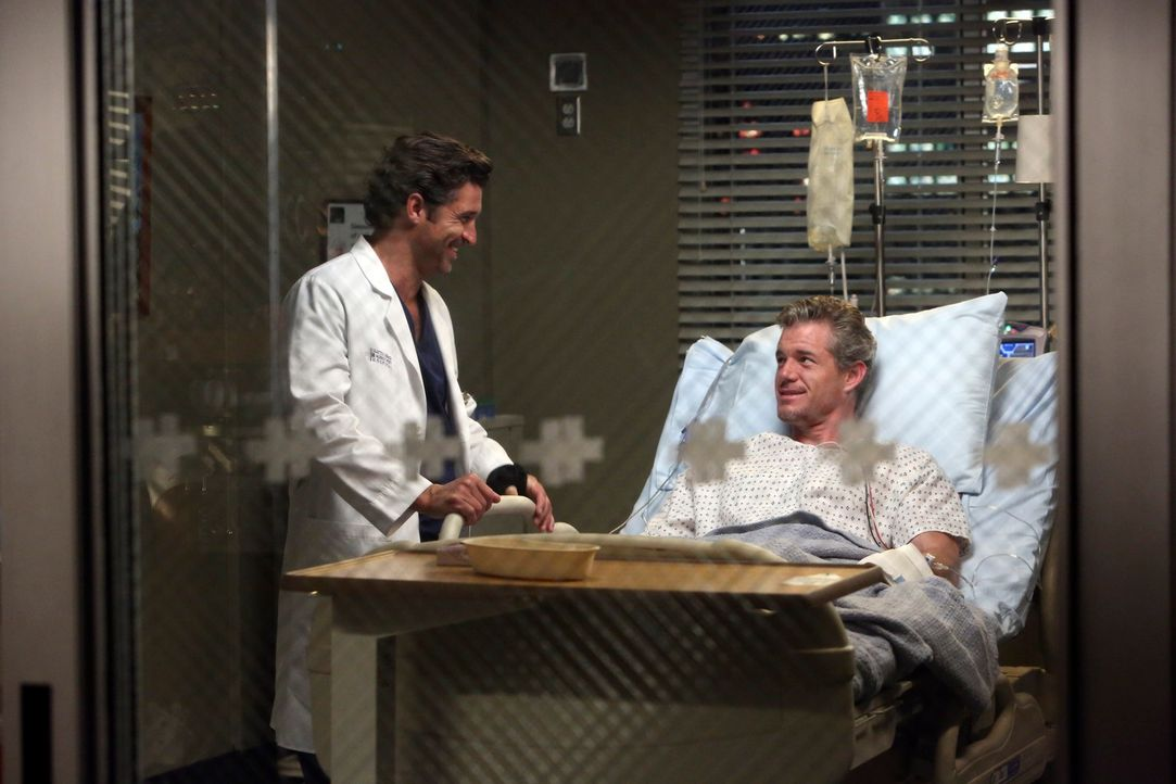 Rückblick: Mark (Eric Dane, r.) und Derek (Patrick Dempsey, l.) ahnen nicht, dass ihnen nicht mehr viel gemeinsame Zeit bleibt ... - Bildquelle: ABC Studios