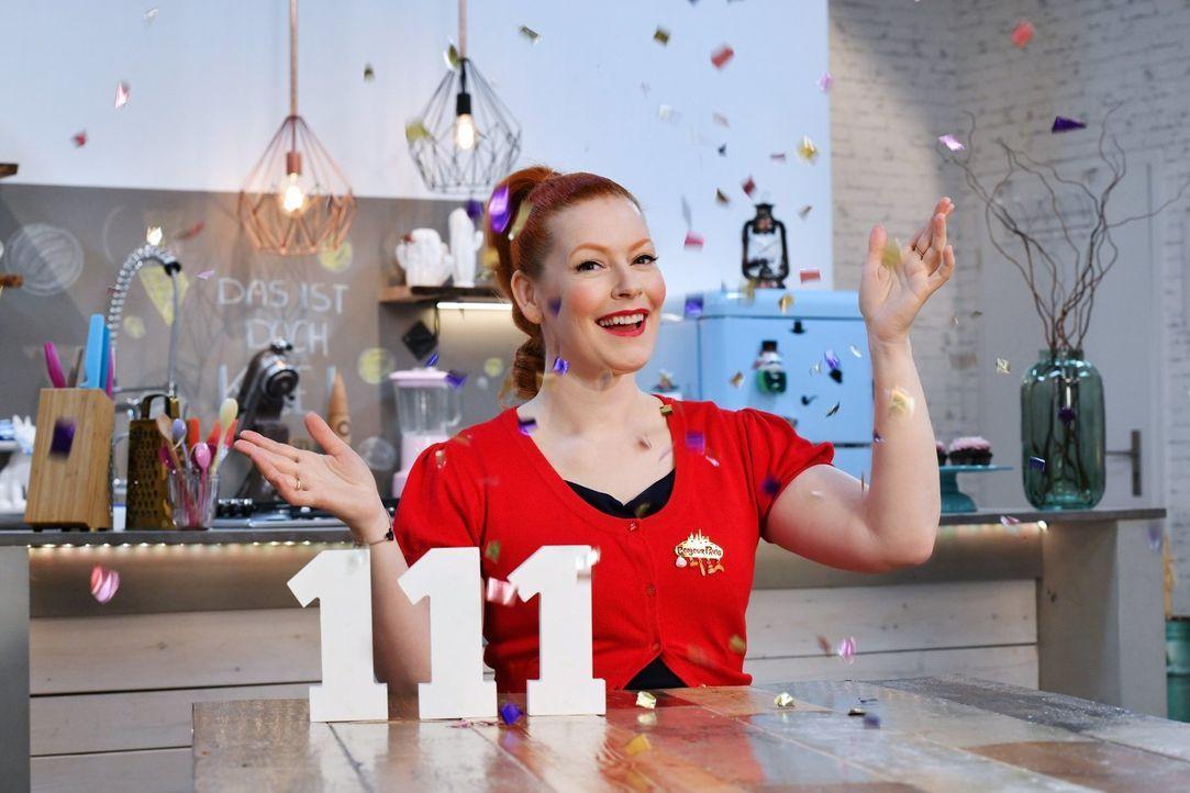 """111 mal """"Sweet & easy"""", das muss gefeiert werden! Enie van de Meiklokjes lädt in ihre gemütliche Backstube ein ... - Bildquelle: Claudius Pflug sixx"""