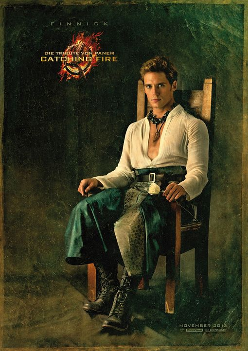 Sam Claflin als Finnick Odair in Catching Fire - Bildquelle: Studiocanal
