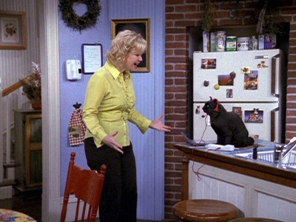 Hilda (Caroline Rhea) sucht verzweifelt Hobby-Künstler für ihr Café. Die möchte ihr Salem als Agent vermitteln, aber natürlich nur gegen Bares... - Bildquelle: Paramount Pictures