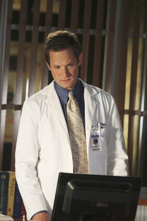 Macht eine Entdeckung, die Eli bei seinem Prozess helfen kann: Nate (Matt Letscher) ... - Bildquelle: Disney - ABC International Television