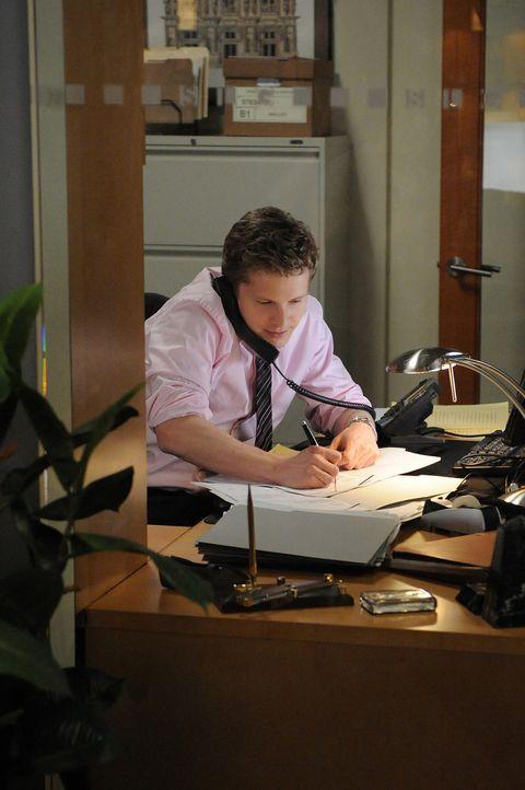 Cary (Matt Czuchry) will unbedingt die Juniorpartnerschaft, doch seine Konkurrentin um den Posten hat noch ein Ass im Ärmel ... - Bildquelle: CBS Studios Inc. All Rights Reserved.