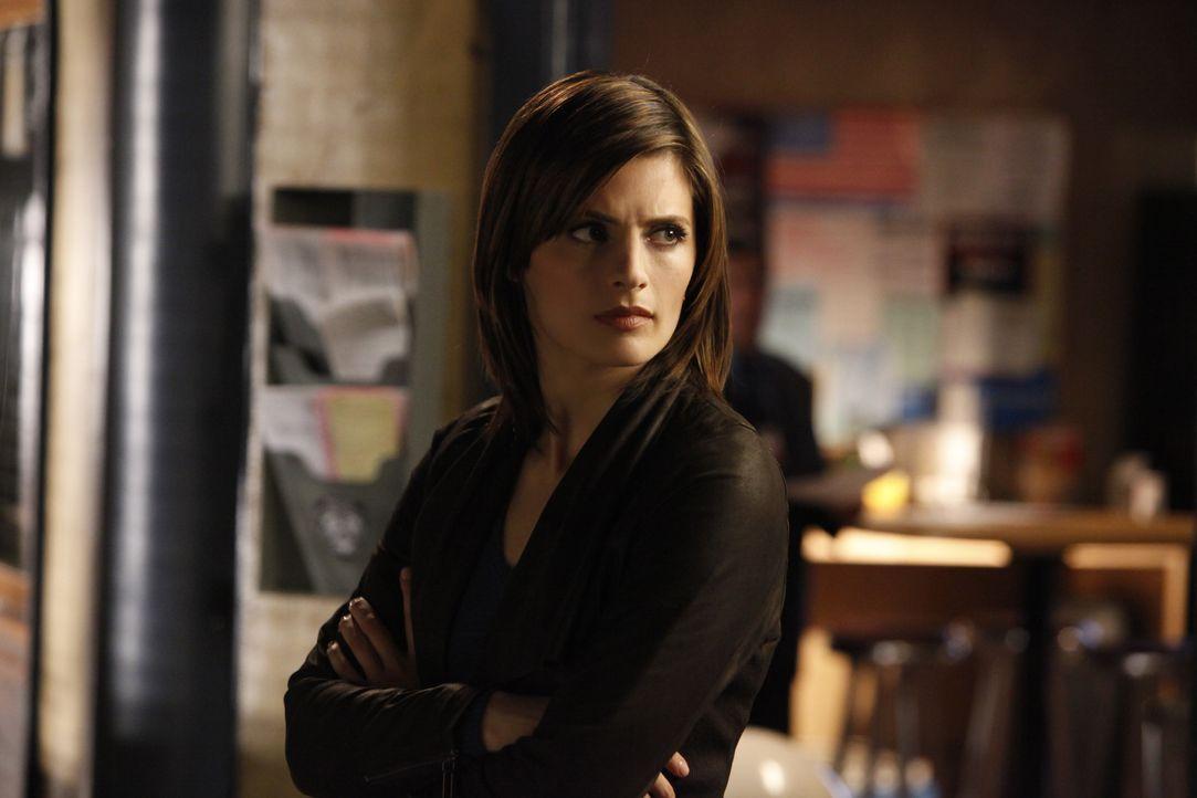 Schwebt in großer Gefahr: Kate Beckett (Stana Katic) - Bildquelle: ABC Studios