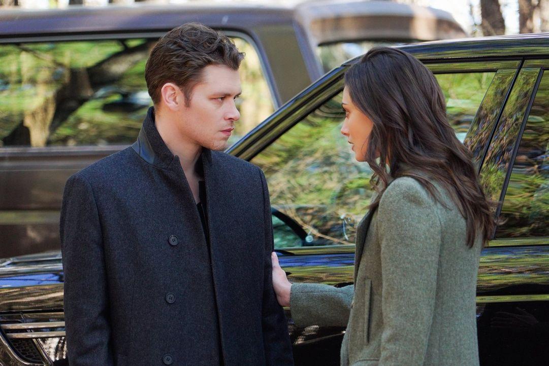 Während Klaus (Joseph Morgan, l.) und Hayley (Phoebe Tonkin, r.) auf der Suche nach einem sicheren Platz für sich und ihre Tochter sind, setzt Marce... - Bildquelle: Warner Bros. Entertainment, Inc.