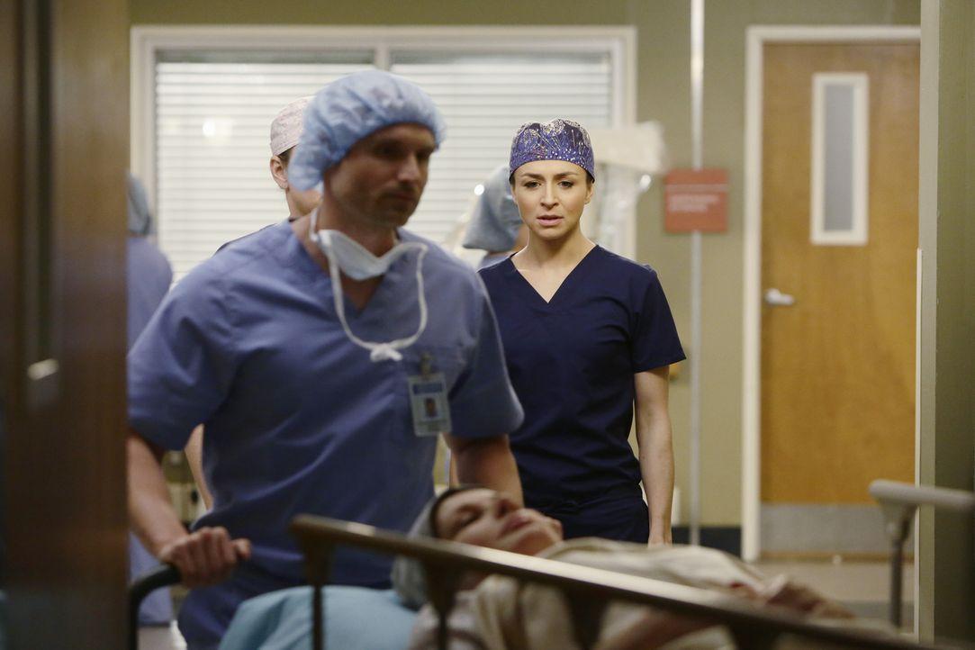 Ist sich ihrer schwierigen Aufgabe bewusst: Amelia (Caterina Scorsone, r.) ... - Bildquelle: ABC Studios