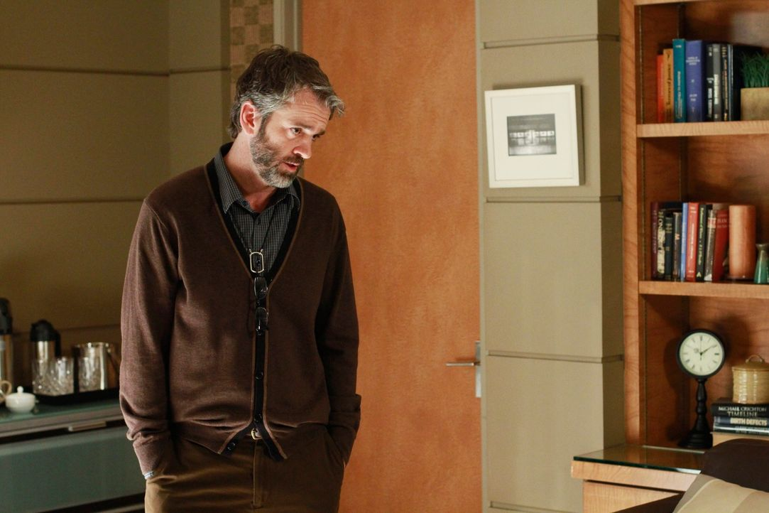 Macht sich Sorgen, um seine Schwägerin, die angeblich eine gespaltene Persönlichkeit hat: Jack (Matt Roth) ... - Bildquelle: ABC Studios