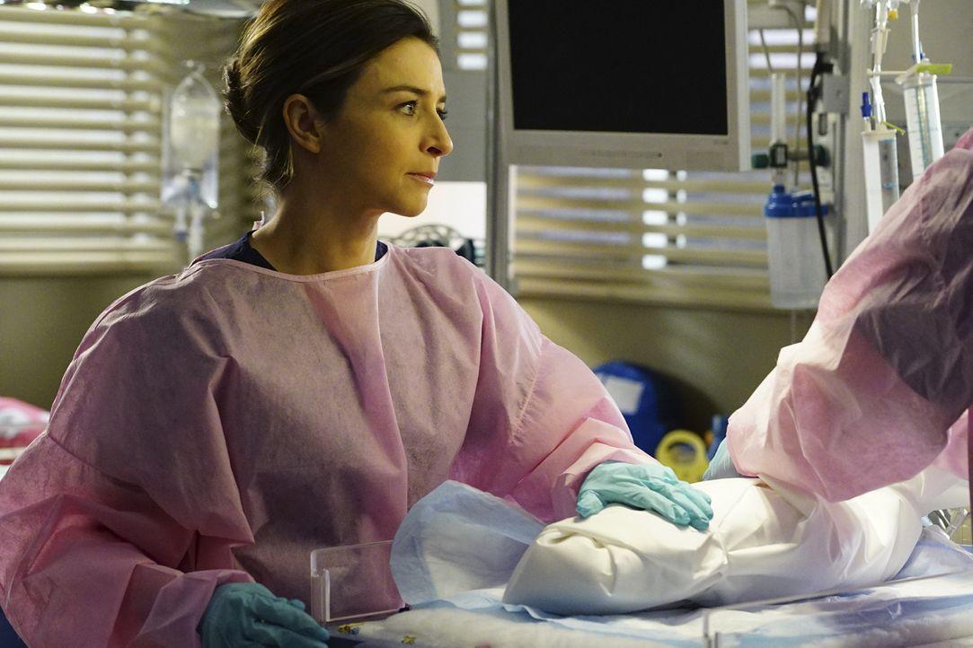 Im Kampf um Leben und Tod: Amelia (Caterina Scorsone) ... - Bildquelle: Richard Cartwright ABC Studios