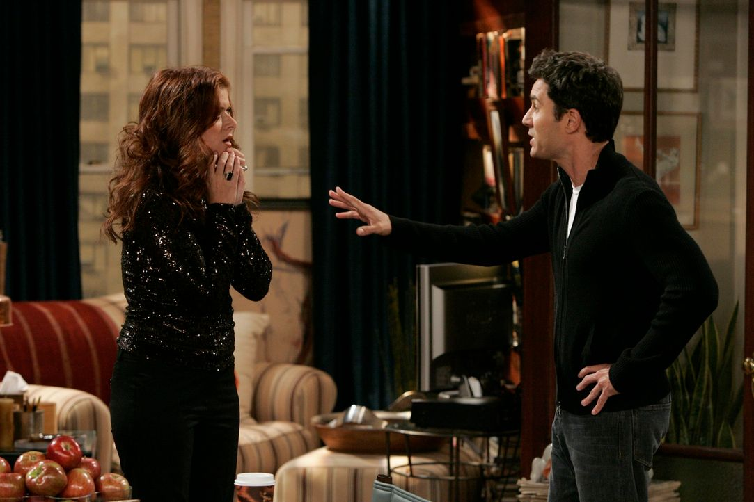 Wahre Freunde: Will (Eric McCormack, r.) und Grace (Debra Messing, l.) ... - Bildquelle: NBC Productions