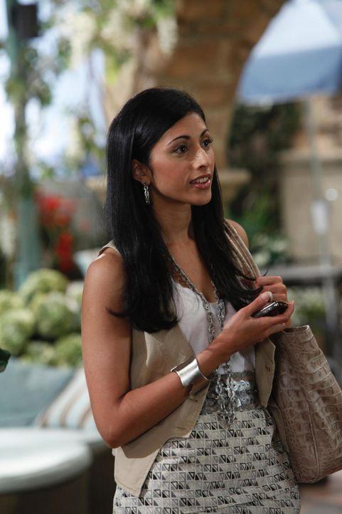 Während Hank und Evan versuche, die finanzielle Situation in den Griff zu bekommen, muss Divya Katdare (Reshma Shetty) sich um den reibungslosen Abl... - Bildquelle: 2010 Open 4 Business Productions, LLC. All Rights Reserved.