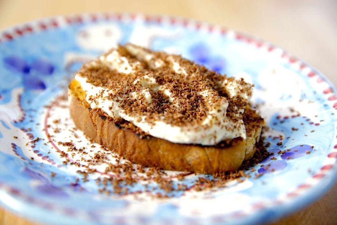 Das süße Schokoladen-Ricotta-Toast ist eines von Giadas absoluten Lieblingsgerichten aus ihrer Kindheit ... - Bildquelle: 2015,Television Food Network, G.P. All Rights Reserved