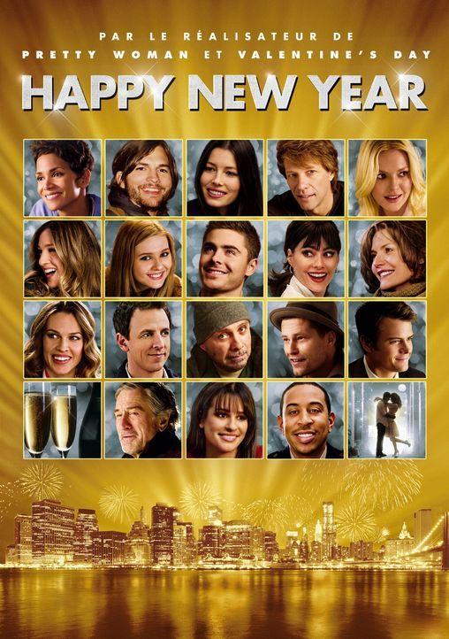 Happy New Year - Neues Jahr, Neues Glück - Artwork - Bildquelle: Warner Bros.