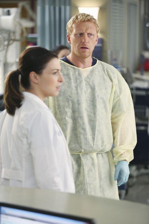 Muss den schweren Vorwürfen, die gegen seine Kollegin Amelia (Caterina Scorsone, l.) erhoben werden, auf den Grund gehen: Owen (Kevin McKidd, r.) ... - Bildquelle: ABC Studios