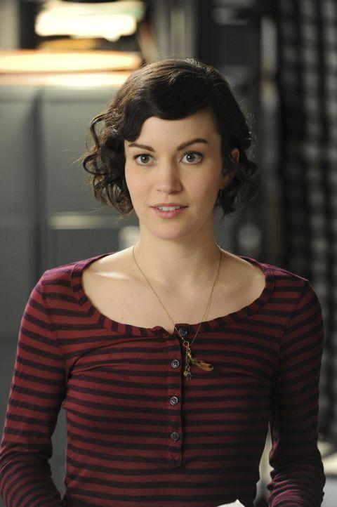 Ein wichtiger Bestandteil des Teams: Tanya (Britt Lower) ... - Bildquelle: 2011 CBS Broadcasting Inc. All Rights Reserved.