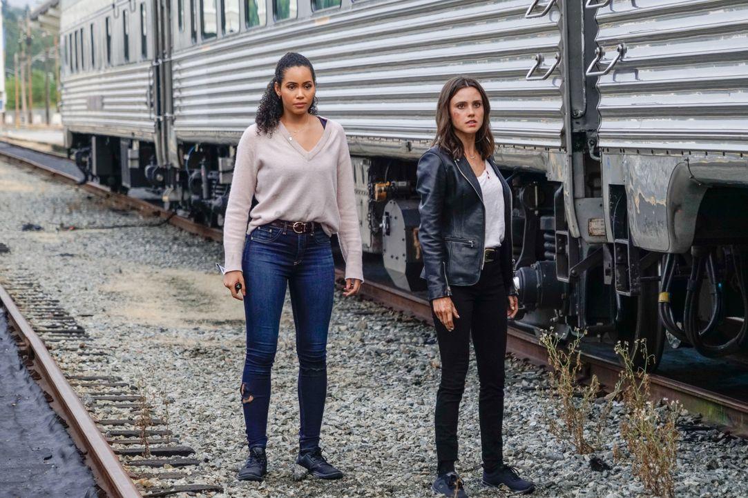 Macy Vaughn (Madeleine Mantock, l.); Abigael (Poppy Drayton, r.) - Bildquelle: Colin Bentley 2019 The CW Network, LLC. All Rights Reserved. / Colin Bentley