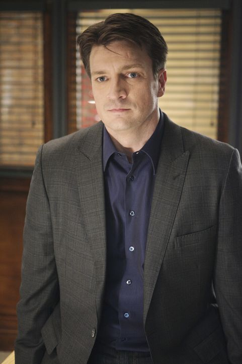 Ermittelt in einem neuen Fall: Castle (Nathan Fillion) ... - Bildquelle: ABC Studios