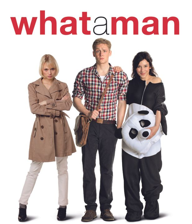 """What a Man"" - Plakatmotiv - Bildquelle: 2011 Fox International Productions (Germany) GmbH and Pantaleon Films GmbH. All rights reserved."