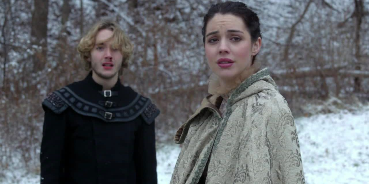 Mary und Francis im Schnee - Bildquelle: 2014 The CW Network. All Rights Reserved.
