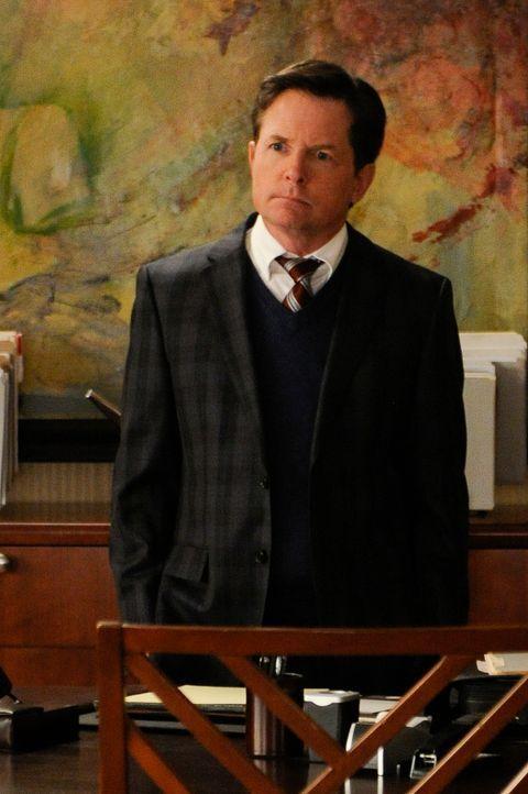 Sein Einstieg bei Lockhart/Gardner ist nicht für alle einfach: Louise Canning (Michael J. Fox) ... - Bildquelle: Jeffrey Neira 2014 CBS Broadcasting, Inc. All Rights Reserved
