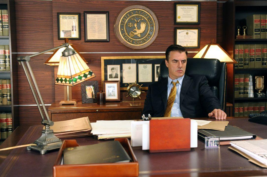 Hat nicht nur mit beruflichen Problemen zu kämpfen: Peter (Chris Noth) - Bildquelle: 2011 CBS Broadcasting Inc. All Rights Reserved.
