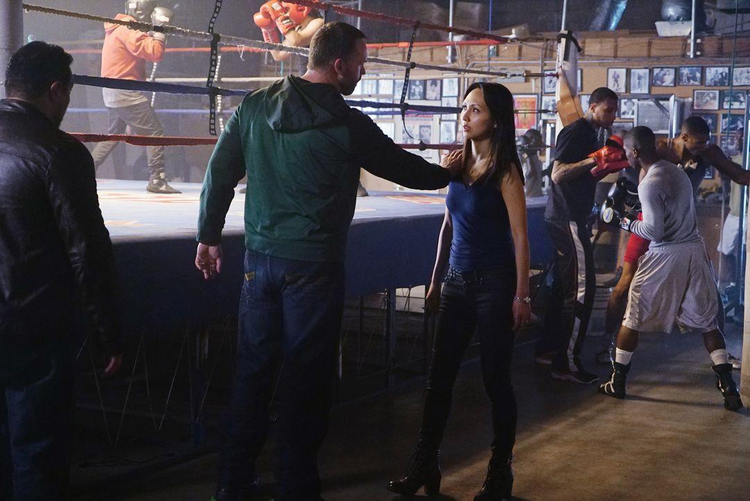 Wer Zhang (Linda Park, r.) angreift, weiß nicht, worauf er sich da einlässt ... - Bildquelle: Richard Cartwright ABC Studios