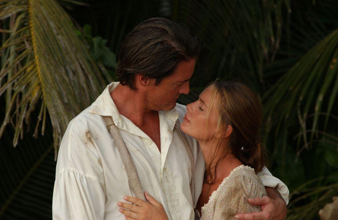 Lassen sich nicht unterkriegen: Captain Smith (Kyle MacLachlan, l.) und Jane (Gabrielle Anwar, r.) ... - Bildquelle: 2006 RHI Entertainment Distribution, LLC