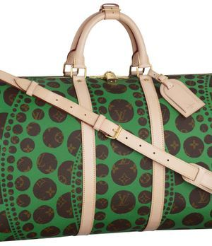 Louis Vuitton Kusama Keepall-Tasche