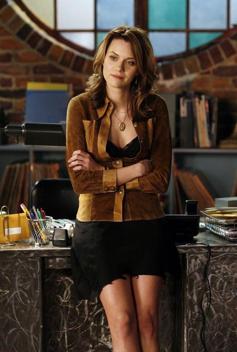 Peyton (Hilarie Burton) hat mit ihrem schlechten Gewissen zu kämpfen ...