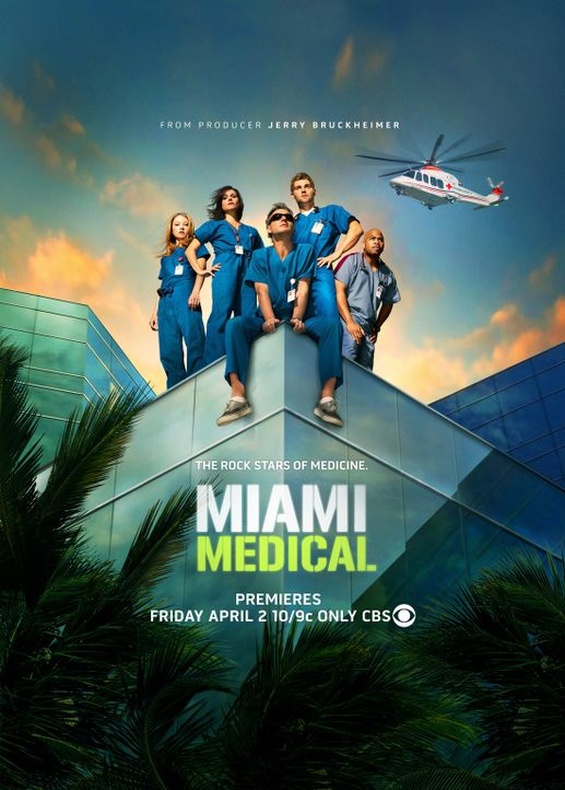 """Miami Medical"" - Plakatmotiv - Bildquelle: Warner Brothers"