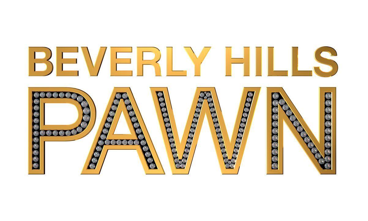 """Beverly Hills Pawn"" - Originaltitel Logo"