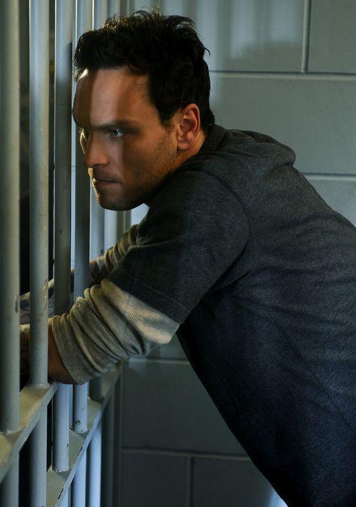 Da er ein mieses Spiel mit Trish und Henry gespielt hat, sitzt Shane (Ben Cotton) noch immer hinter Gittern ... - Bildquelle: 2009 CBS Studios Inc. All Rights Reserved.