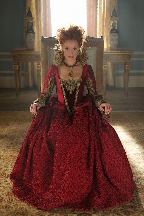 Königin Elizabeth (Rachel Skarsten) hat es auf Mary abgesehen, nicht nur politisch, sondern auch privat ... - Bildquelle: Sven Frenzel 2014 The CW Network, LLC. All rights reserved.