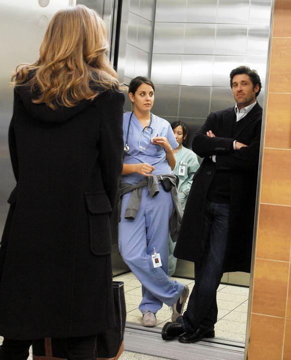 Werden sie wieder ein Paar?: Meredith (Ellen Pompeo, l.) und Derek (Patrick Dempsey, r.) ... - Bildquelle: Touchstone Television