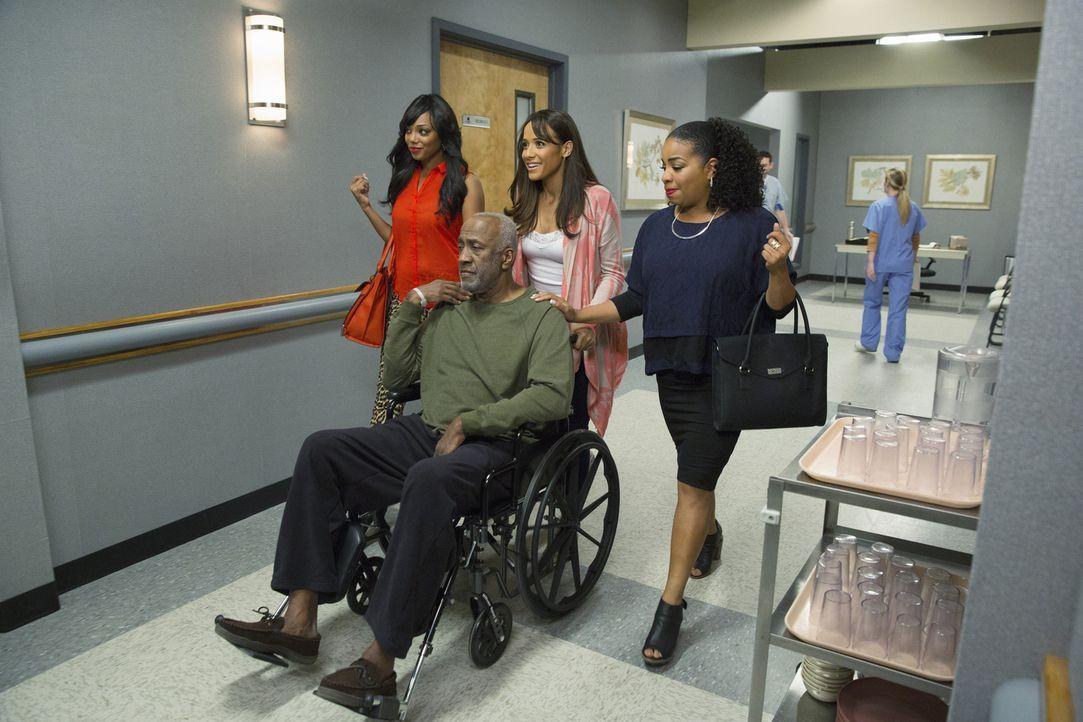 Werden Rosie (Dania Ramirez, hinten M.), Lucinda (Kimberly Hebert Gregory, r.) und Didi (Tiffany Hines, r.) damit durchkommen, dass sie Kenneth (Wil... - Bildquelle: 2014 ABC Studios