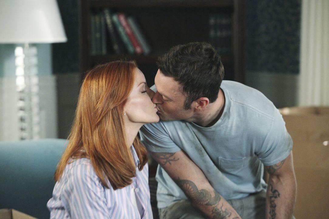 Sind glücklich miteinander: Bree (Marcia Cross, l.) und Keith (Brian Austin Green, r.) ... - Bildquelle: ABC Studios
