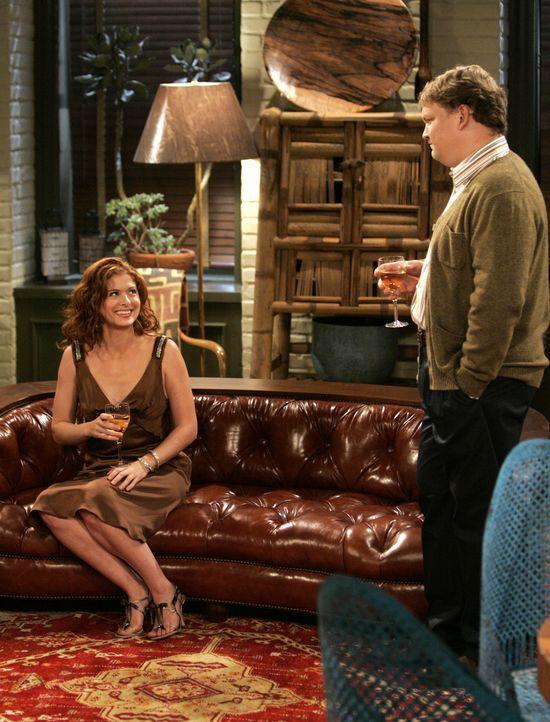 Da Grace (Debra Messing, l.) den Vorwurf nicht auf sich sitzen lassen will, dass sie arrogant sei, stimmt sie schließlich einem zweiten Treffen mit... - Bildquelle: NBC Productions