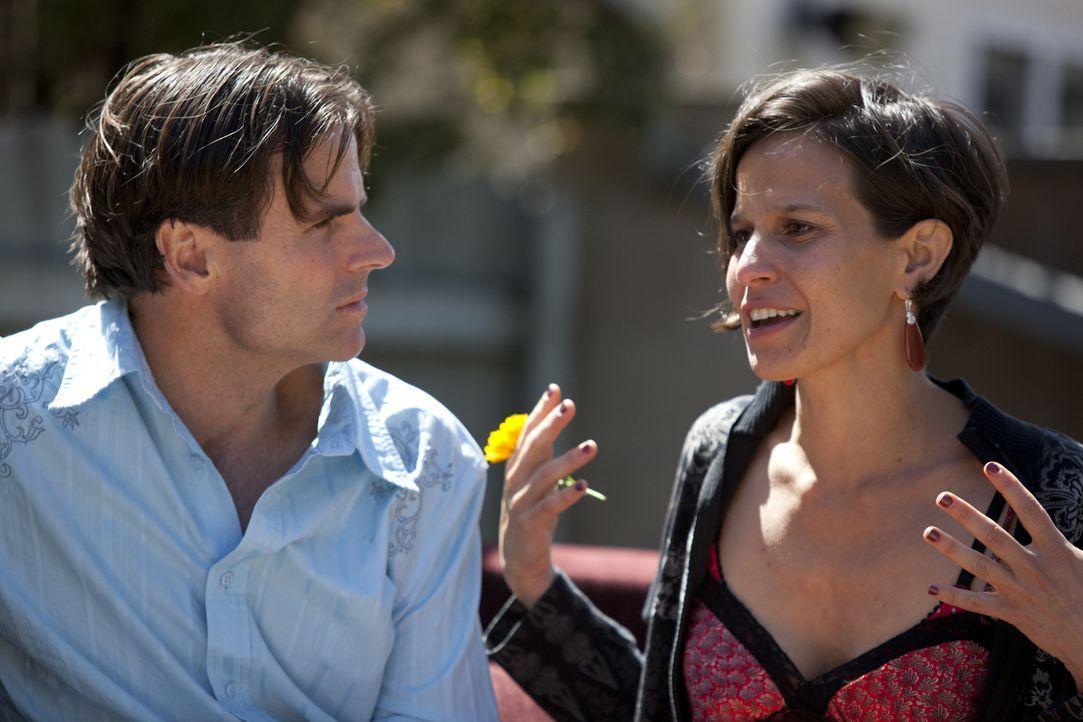 Setzen große Hoffnungen auf den Einzug von Jen und Tahl: Michael (l.) und Kamala (r.) ... - Bildquelle: Lucas North Showtime Networks Inc. All rights reserved.