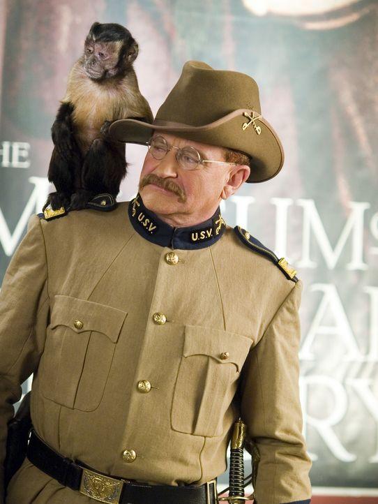 Teddy Roosevelt (Robin Williams) - Bildquelle: 2006 Twentieth Century Fox Film Corporation.  All rights reserved.