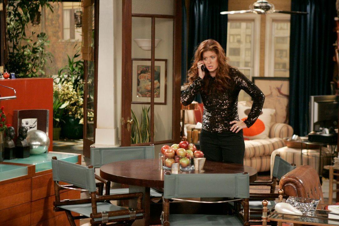 Grace (Debra Messing) weiß nicht, was sie tun soll und bittet deshalb ihre Freunde um Rat - eine gute Idee? - Bildquelle: NBC Productions