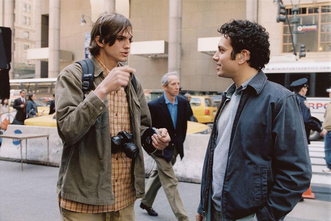 Die beiden Brüder Oliver (Ashton Kutcher, l.) und Graham Martin (Ty Giordano, r.) führen ein geregeltes Leben. Eines Tages jedoch lernt Oliver ein... - Bildquelle: Ben Glass & Demmie Todd Touchstone Pictures. All rights reserved